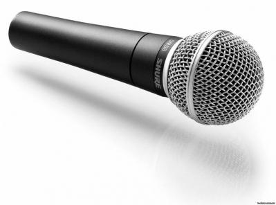 Микрофон динамический SHURE SM 58-LCE