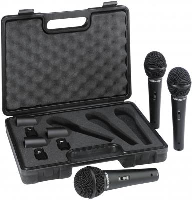 Микрофон динамический (комплект 3 шт.) BEHRINGER XM1800S 3 PACK