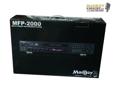 Madboy MFP-2000 мультиформатный караоке плеер