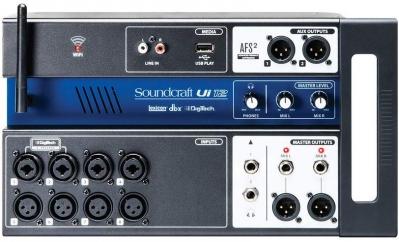 Soundcraft Ui-12 рэковый микшер