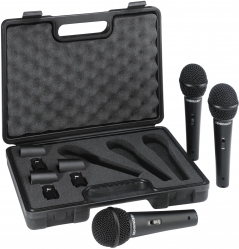 Комплект микрофонов (3 шт.) BEHRINGER XM1800S 3 PACK