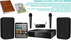 AST Mini Radio - комплект для домашнего караоке